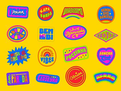 Avon Pride logotype logo typography brazil type lettering gay lgbt lgbtq