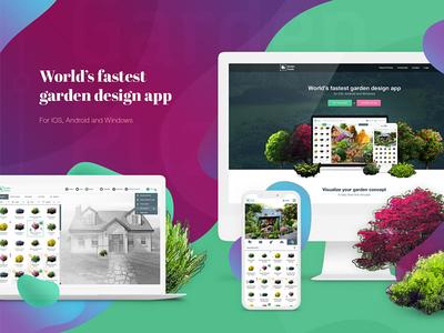 App design - Garden Puzzle