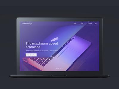 Apple retail showroom website web design apple