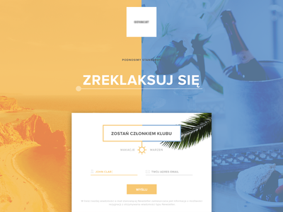 Landing Page - Travel Company vacation summer luxury travel travel vacation landing page landing page