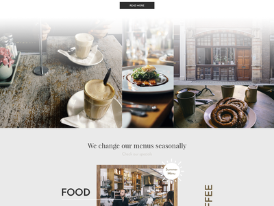 Soho Cafe - Web web web design yummy restaurant coffee food cafe