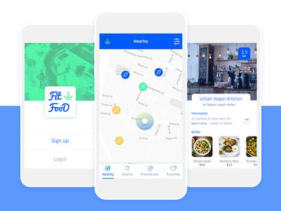 Vegan and vegetarian App🌱 fit food food app restaurant vegetarian mobile app vege map