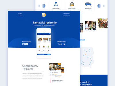 Food app - Web Design