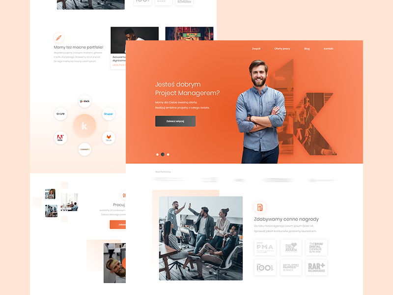 K - Company interactive agency company gradient developers agency marketing agency digital agency