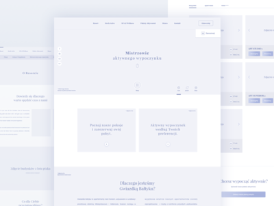GM Wireframes wireframe ux ux design wireframes hotel travel vacation hotel web apartments apartments web polish hotel