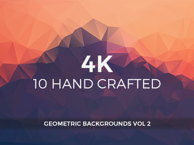 Hand crafted Geometric Backgrounds 2