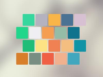 Inspire Me flat ui swatches palette colors photoshop illustrator indesign flat ui color scheme photoshop swatches illustrator swatches