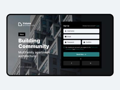 Volume Architecture — Building Community