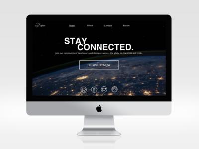 DailyUI: Landing Page