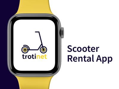 Trotinet - Scooter Rental App