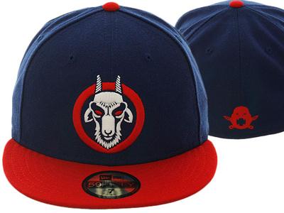 Reverse the Curse curse illustration vector baseball cubs chicago goat new era hat