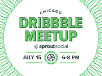 Dribbble Chicago Meetup @ Sprout Social