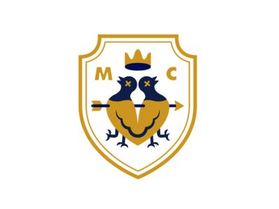 Dead Pigeon Soccer Crest