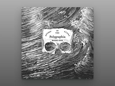 Asleep in the Stars Album Art ocean waves album skull music metal