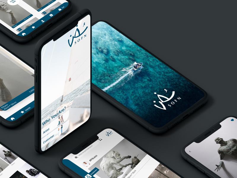 Sofon ksa arts user experience ui design