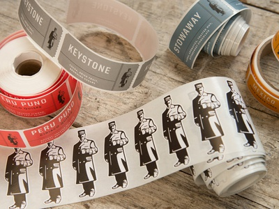 Passenger Coffee Roasters Labels & Stickers