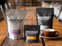 Passenger Coffee Roasters Package Design
