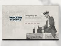 Wacker Brewing Co Website