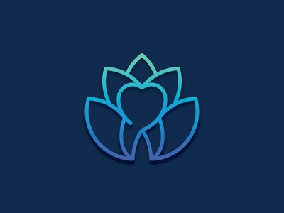 Holistic Dentistry lotus gradient holistic care tooth dentistry