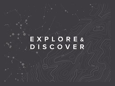 Explore & Discover land grey space map travel explore