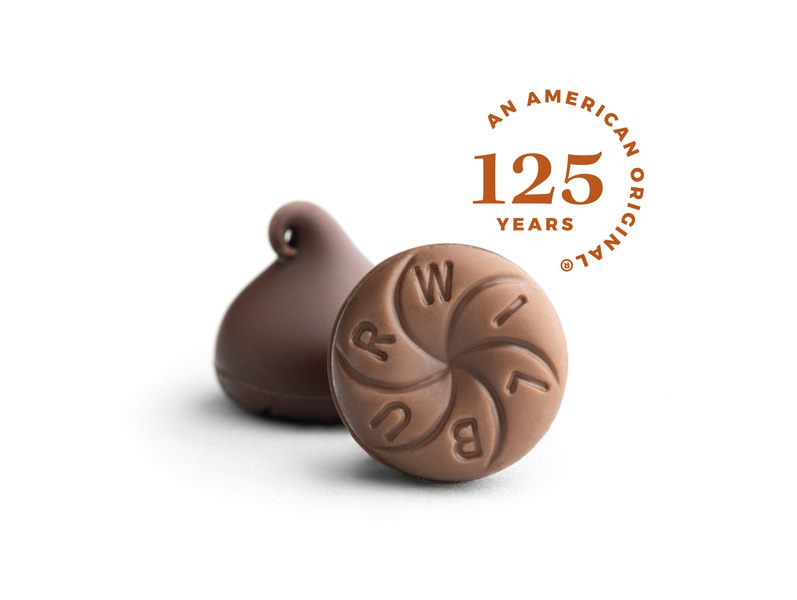 Wilbur Buds 125th Anniversary lititz anniversary seal chocolate