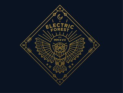 Electric Forest Badge