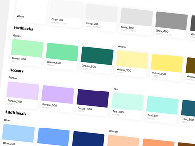 Back Market Design System Colors backmarket rgb rgba figma design ds color palette colors design system