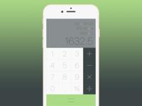 Calculator - DailyUI 004