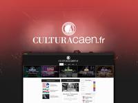Behance Project - Culturacaen.fr