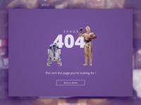 Supagog 404 - DailyUI008