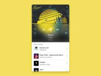 Music Player - DailyUI009
