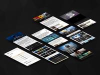 Gamekult Mobile Website UI