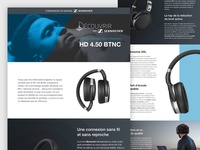 Sennheiser HD 4.50 Online Ad