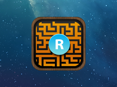 Labirynth Roder Icon game rider maze icon ios