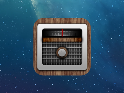 FStream Icon stream radio icon ios