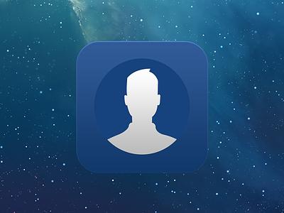 Facepad profile facebook icon ios