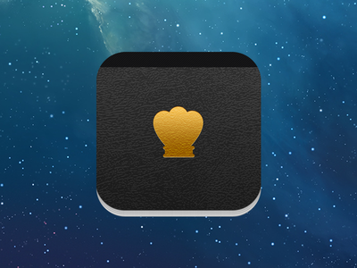 CooKing Icon crown king cook icon ios