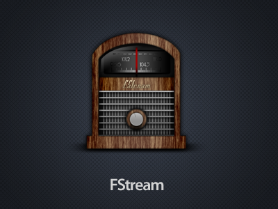 FStream radio app icon osx