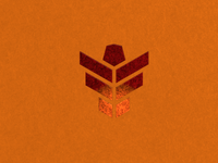 Copper foil business card design