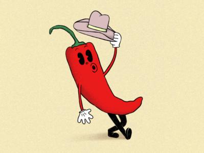 Howdy partner! illustration