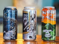 Beer Can Design for Burial Beer Co.