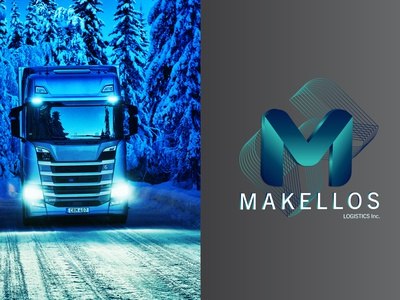 Makellos Logistics Inc. | Branding trucking transport logistics logistics company logistics logo logistic branding design logo logo design branding concept brand design brand identity identity branding graphicdesign