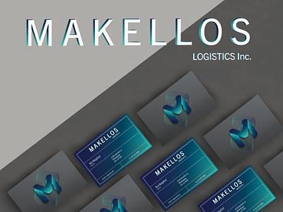 Makellos Logistics Inc. | Branding transport trucking logistics company logistics logo logistic logo identity brand identity logo design branding business card businesscard branding concept brand design graphicdesign