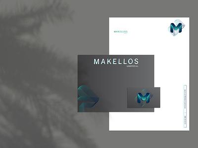 Makellos Logistics Inc. | Branding stationery businesscard business card logo branding concept brand design identity brand identity logo design branding graphicdesign