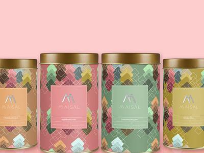 Maisal Chai brand identity identity branding concept brand design logo design label packaging label design tea packaging packaging design package design packagingdesign packaging branding graphicdesign