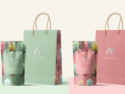 Maisal ChaI labels labeldesign label packaging label design tea packaging packaging design package design packagedesign packaging brand identity identity branding graphicdesign