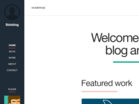 Sideblog Theme