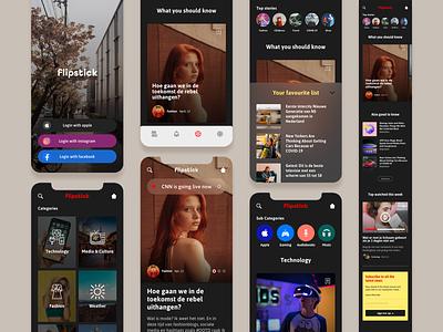 News App UI Kit ui kit kit modern user interface clean app design app mobile app mobile ui mobile design