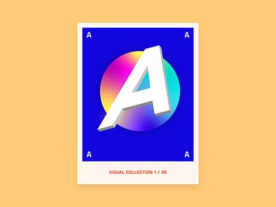 Alphabet challenge - A graphicdesign graphic design