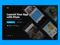 Launch Your App with Style Hero